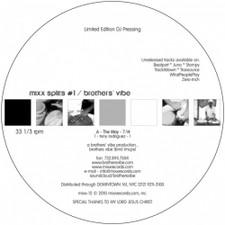 """Brothers' Vibe / Christiano & Davidino - Mixx Splits #1 - 12"""" Vinyl"""