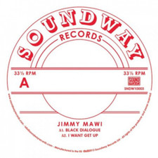 "Jimmy Mawi - Black Dialogue - 10"" Vinyl"