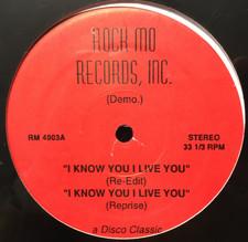 """Chaka Khan - I Know You I Live You - 12"""" Vinyl"""