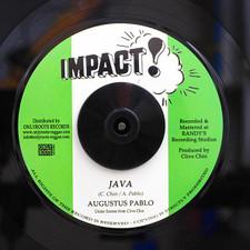 "Augustus Pablo - Java - 7"" Vinyl"