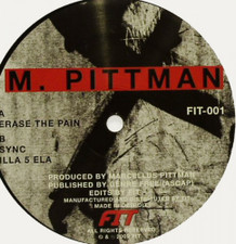 "Marcellus Pittman - Erase the Pain - 12"" Vinyl"