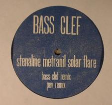 "Bass Clef - Stenaline Metranil - 12"" Vinyl"