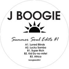 "J Boogie - Summer Soul Edits #1 - 12"" Vinyl"