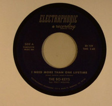 "The Bo-Keys feat. Percy Wiggins - I Need More Than One Lifetime - 7"" Vinyl"
