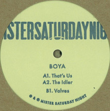 """Boya - The Boya Ep - 12"""" Vinyl"""