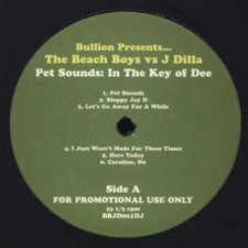 The Beach Boys vs J Dilla - Pet Sounds: In The Key Of Dee - LP Vinyl