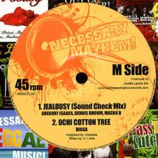 "Gregory Isaacs / Dennis Brown - Jealousy - 12"" Vinyl"