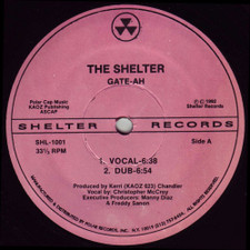 "Gate Ah - Shelter - 12"" Vinyl"