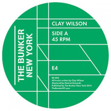 "Clay Wilson - The Bunker New York 002 - 12"" Vinyl"