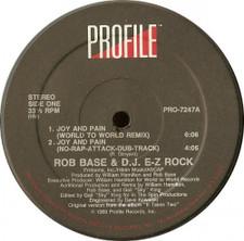 """Rob Base & DJ EZ Rock - Joy & Pain - 12"""" Vinyl"""