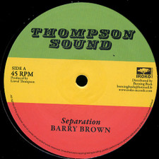 "Barry Brown - Seperation - 12"" Vinyl"