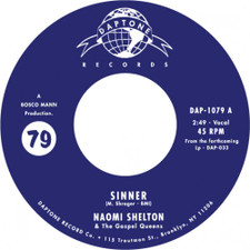 "Naomi Shelton & the Gospel Queens - Sinner / Everybody Knows - 7"" Vinyl"