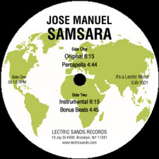 """Jose Manuel - Samsara - 12"""" Vinyl"""