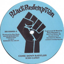 "Icho Candy - Come Down Babylon - 10"" Vinyl"
