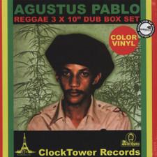 """Augustus Pablo - Reggae Box Set - 3x 10"""" Colored Vinyl"""