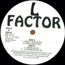 "L Factor - Simply Acid - 12"" Vinyl"