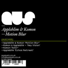 "Appleblim & Komon - Motion Blur - 12"" Vinyl"