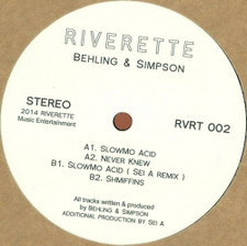 "Behling & Simpson - SlowMo Acid - 12"" Vinyl"