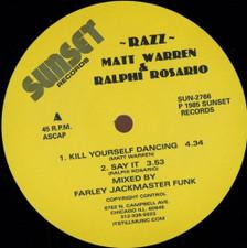 "Razz - Kill Yourself Dancing - 12"" Vinyl"