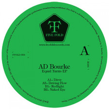 "Ad Bourke - Equal Turns Ep - 12"" Vinyl"