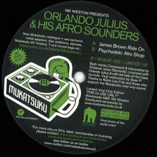 "Orlando Julius & His Afro Sounders - James Brown Ride On - 10"" Vinyl"