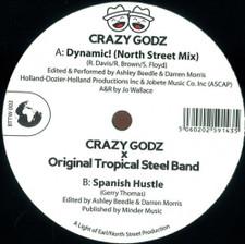 """Crazy Godz - Dynamic - 12"""" Vinyl"""