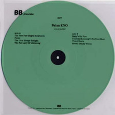 Brian Eno - Live at the BBC - LP Colored Vinyl