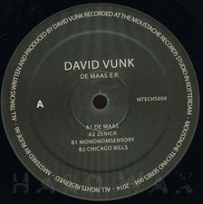 """David Vunk - De Maas - 12"""" Vinyl"""