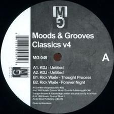 """KDJ / Rick Wade - Moods & Grooves Classics Vol. 4 - 12"""" Vinyl"""