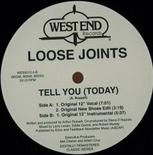 "Loose Joints - Tell You (Today) - 12"" Vinyl"