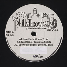"Various Artists - Da Philly Throwback Ep Vol.1 - 12"" Vinyl"