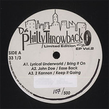 "Various Artists - Da Philly Throwback Ep Vol.2 - 12"" Vinyl"