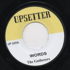 "Gatherers - Words - 7"" Vinyl"