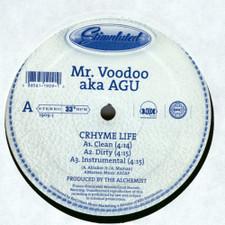 "Mr. Voodoo - Crhyme Life / Lyrical Tactics Pt. 2 - 12"" Vinyl"