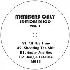 "Members Only - Editions Disco Vol. 1 - 2x 12"" Vinyl"