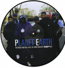Public Enemy - Planet Earth (Greatest Rap Hits) - LP Vinyl Picture Disc