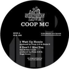 """Coop MC - Watt Up Homie - 12"""" Vinyl"""