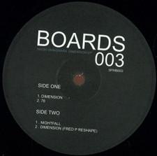 "Naoki Shinohara - Dimension Ep - 12"" Vinyl"