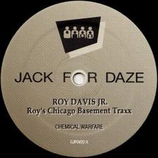 """Roy Davis Jr. - Basement Traxx - 12"""" Vinyl"""