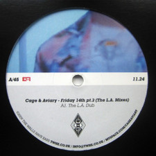 """Cage & Aviary - Friday 14th Pt. 3 (The L.A. Mixes) - 12"""" Vinyl"""