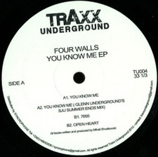 "Four Walls - You Know Me Ep - 12"" Vinyl"