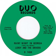 "Leroy & The Drivers - Rainy Night In Georgia - 7"" Vinyl"
