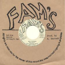 "Aston Barrett - Well Pleased - 7"" Vinyl"