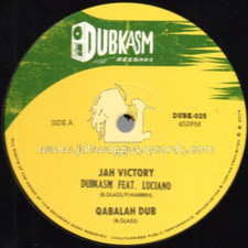 "Dubkasm - Jah Victory / Right There - 12"" Vinyl"