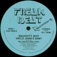 Uncle Jams Army - Naughty Boy - 12' Vinyl