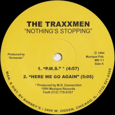 "Traxxmen - Nothing's Stopping - 12"" Vinyl"