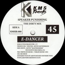 """E-Dancer - Speaker Punishing - 12"""" Vinyl"""