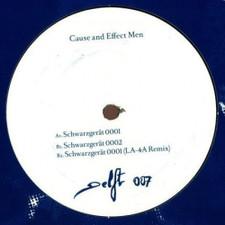 """Cause and Effect Men - Schwarzgerat - 12"""" Vinyl"""
