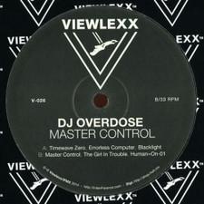 "DJ Overdose - Master Control - 12"" Vinyl"