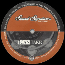 "Theo Parrish - I Can Take It - 12"" Vinyl"